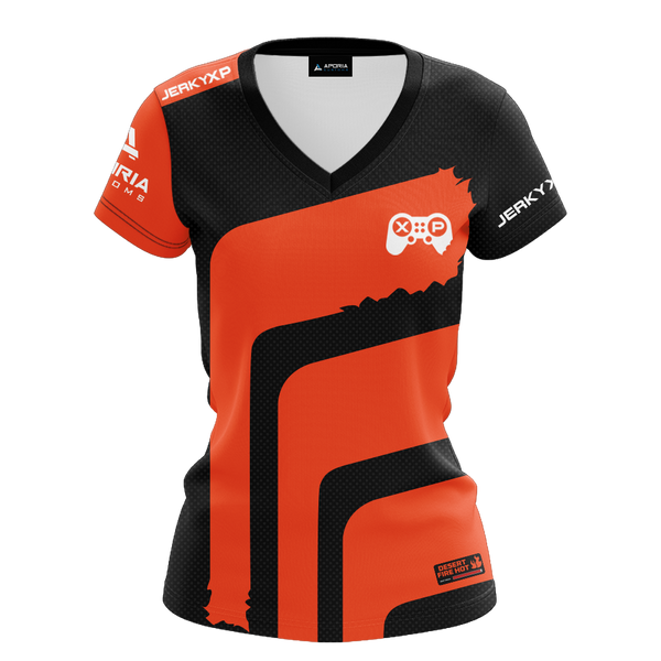 "JerkyXP ""Desert Fire Hot"" Women's Short Sleeve Jersey"