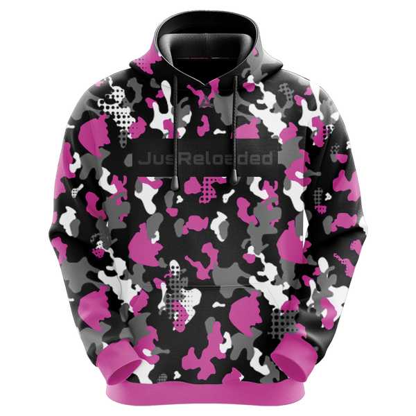 JusReloaded Pink Sublimated Hoodie