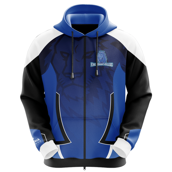TeamKGK Sublimated Zip Up Hoodie