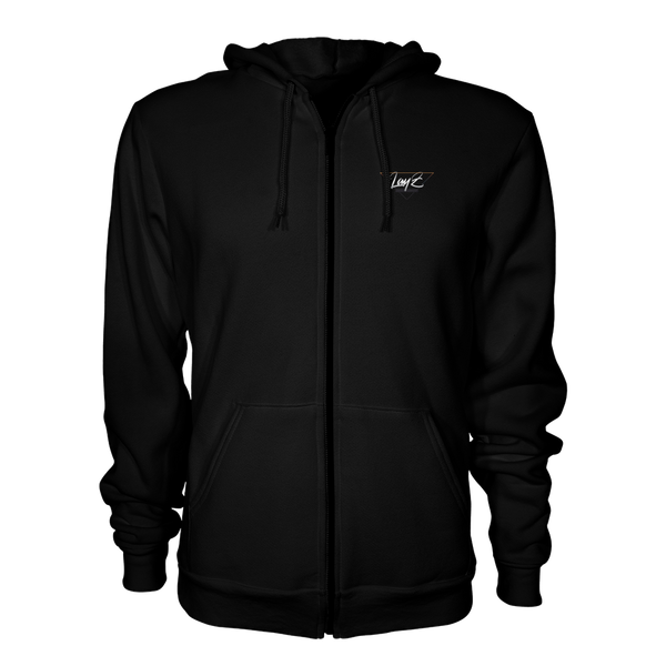 LayZ Entertainment Zip Up Hoodie