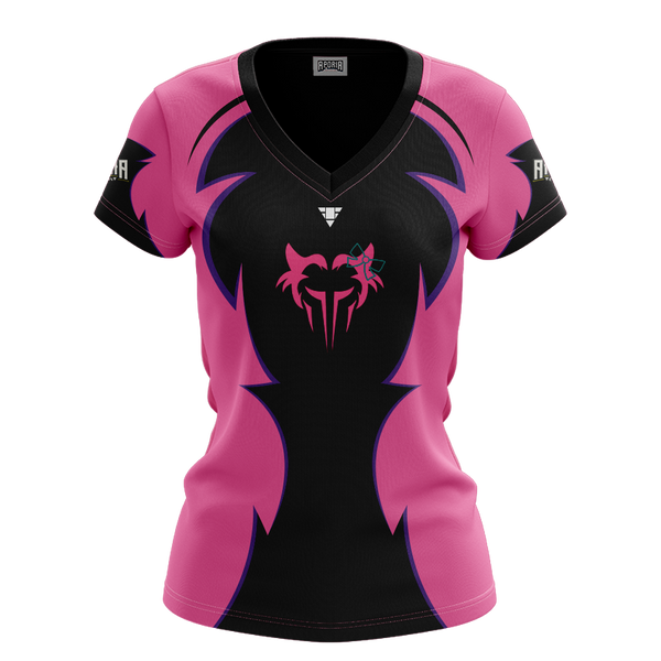Team Lycan Womens V-Neck Short Sleeve Jersey