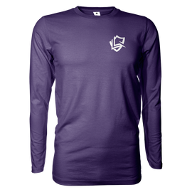 Lyra Long Sleeve T-Shirt - Purple