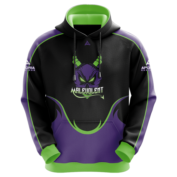 Malevolent Gaming Sublimated Hoodie