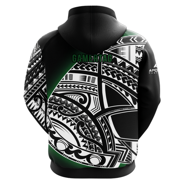 Unstoppable Crew Sublimated Zip Up Hoodie