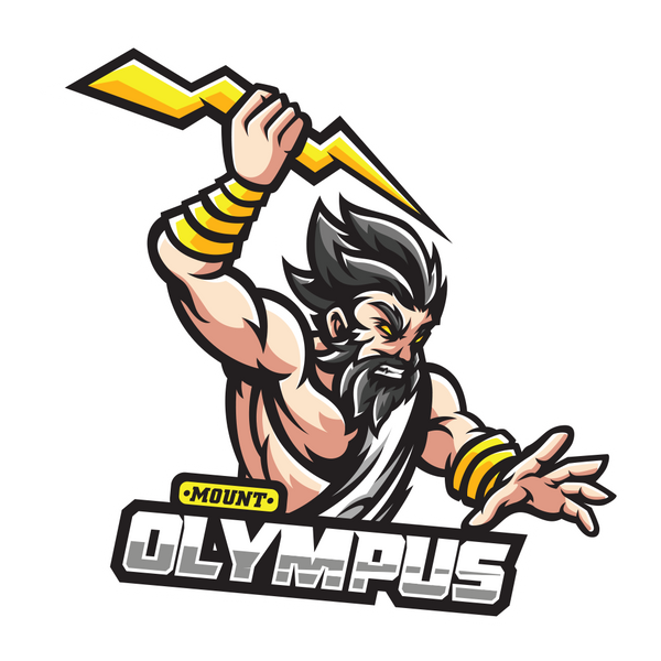 Mount Olympus Sticker