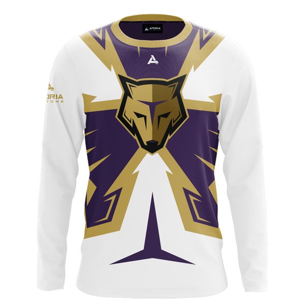 New England Storm Wolves Long Sleeve Jersey