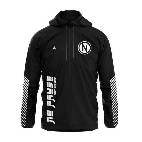 No Pause Tournaments Sublimated Windbreaker w/Hood