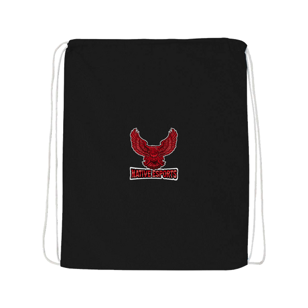 Native Esports Drawstring Bag