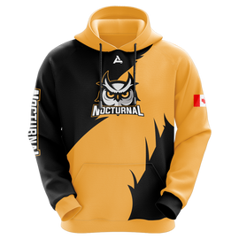 Nocturnal Sublimated Hoodie