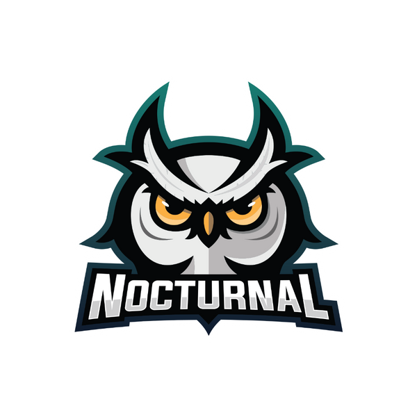 Nocturnal Sticker