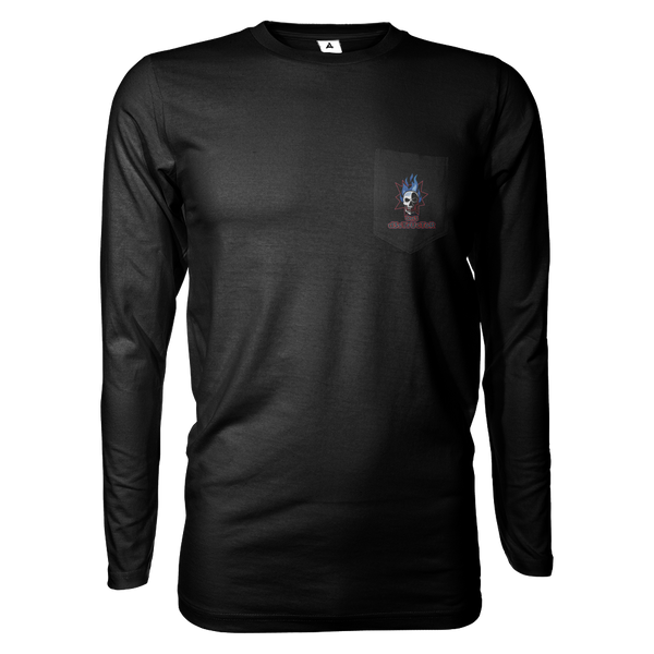 On3 d3sTrUcToR Long Sleeve Shirt w/Pocket