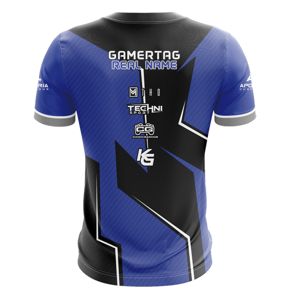 PRS Gaming Blue Short Sleeve Jersey