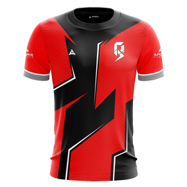 PRS Gaming Red Short Sleeve Jersey