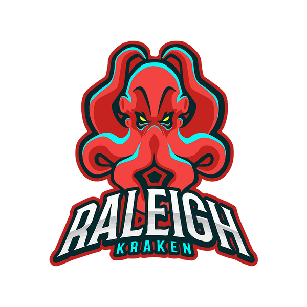Raleigh Kraken Sticker