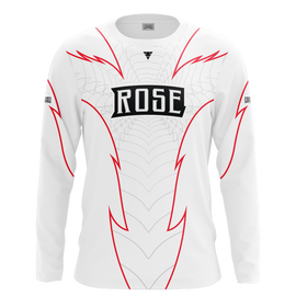 Rose Clan White Long Sleeve Jersey