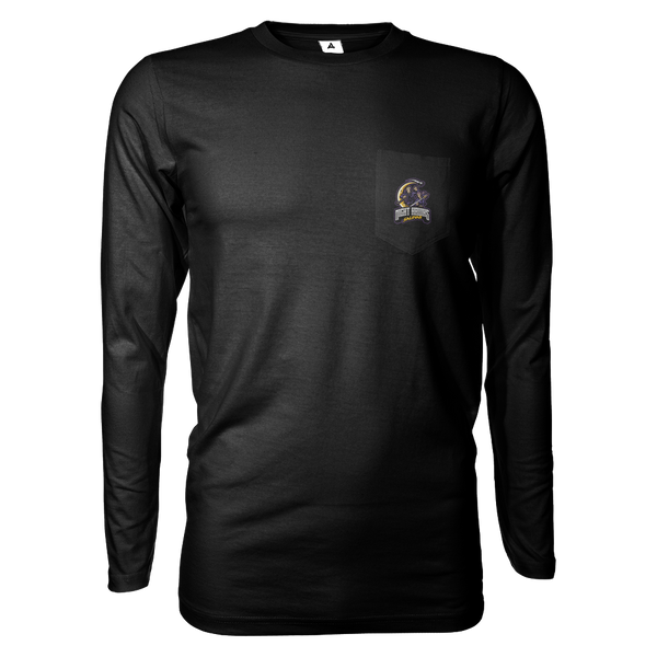 Salinas High Night Hawks Long Sleeve Shirt w/Pocket
