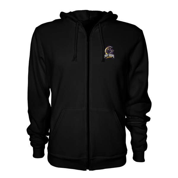 Salinas High Night Hawks Zip Up Hoodie
