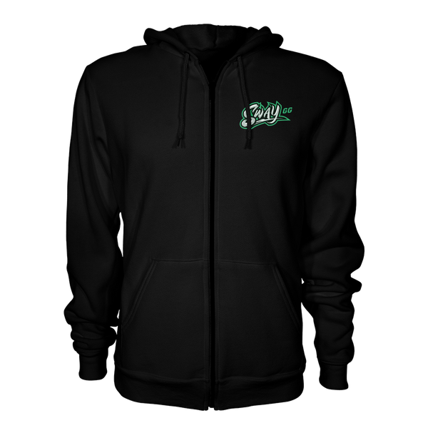 Sway Back Zip Up Hoodie