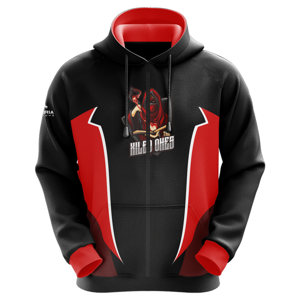 The Xiled Ones Sublimated Zip Up Hoodie