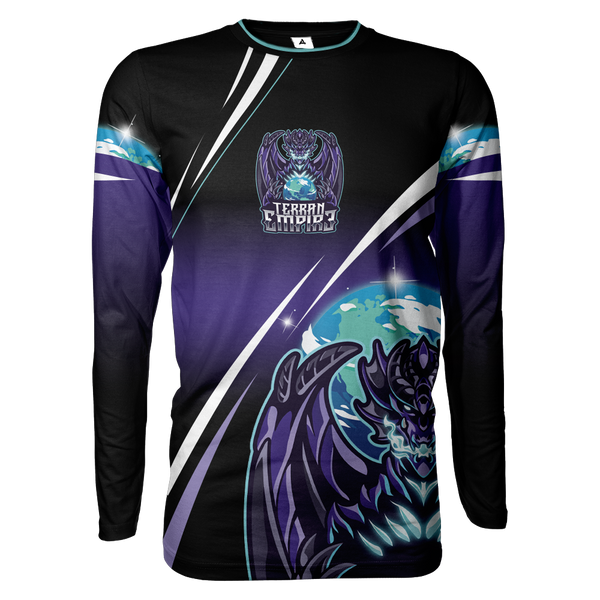 Terran Gamer Sublimated Long Sleeve Shirt V2