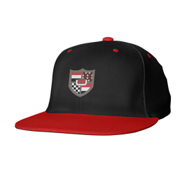 Unorthodox Snapback - Black/Red