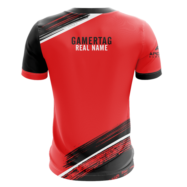 Unreal Nightmare Red Alternate Short Sleeve Jersey 2019