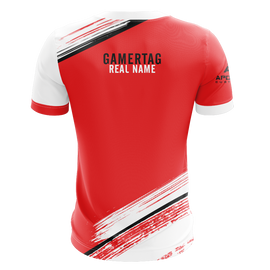 Unreal Nightmare Red Short Sleeve Jersey 2019
