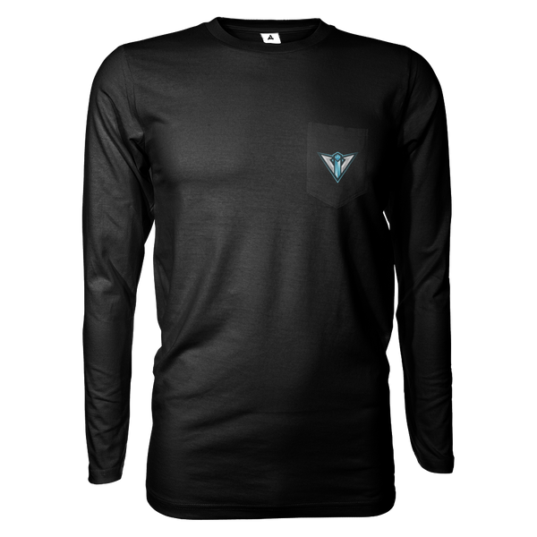 Vital Instinct Long Sleeve Shirts w/Pocket