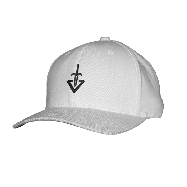 Virtuous Gaming Flexfit Hat - White