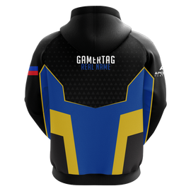 Will 2 Win Gaming Sublimated Hoodie