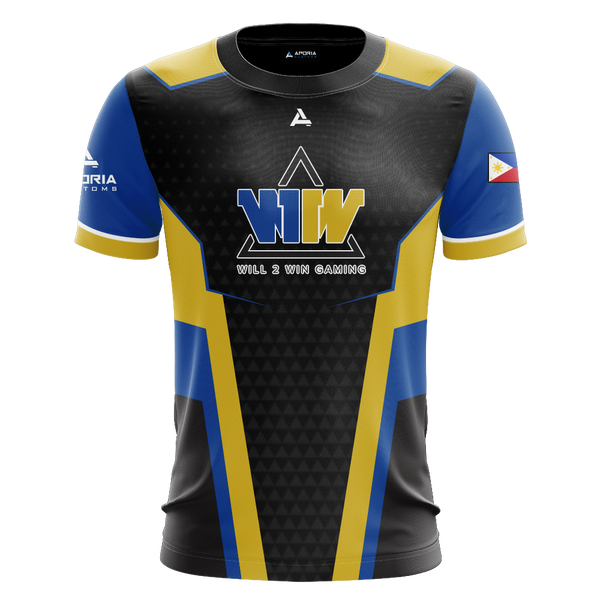 Will 2 Win Gaming Short Sleeve Jersey