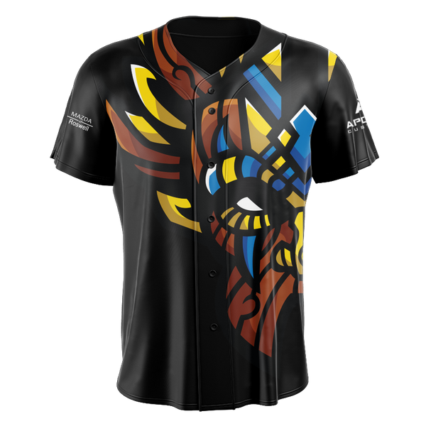 Witch Doctor Gaming Baseball Jersey - Black