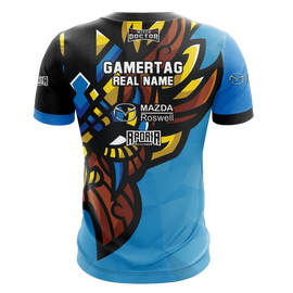 Witch Doctor Gaming Blue Short Sleeve Jersey
