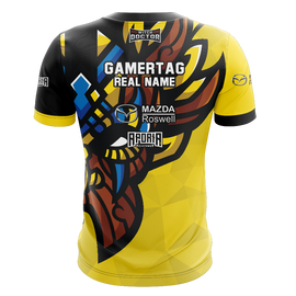 Witch Doctor Gaming Yellow Short Sleeve Jersey