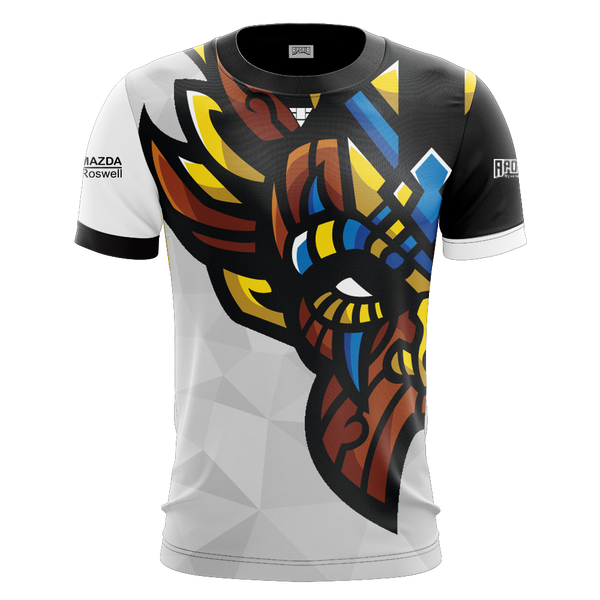Witch Doctor Gaming White Short Sleeve Jersey