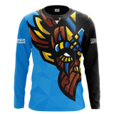 Witch Doctor Gaming Blue Long Sleeve Jersey
