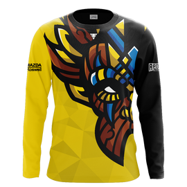 Witch Doctor Gaming Yellow Long Sleeve Jersey