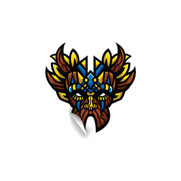 Witch Doctor Gaming Sticker V4