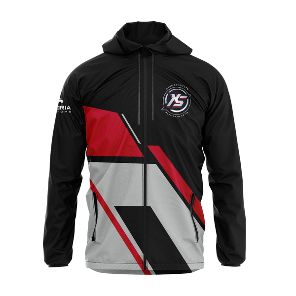 Xiled Syndicate Sublimated Windbreaker w/Hood