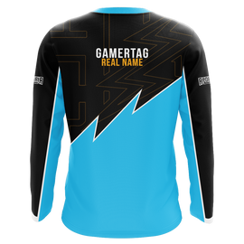 eAthlete Labs Blue Long Sleeve Jersey