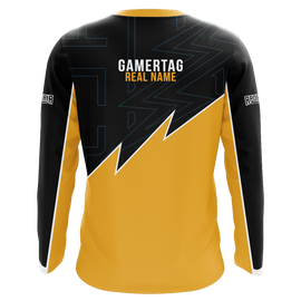 eAthlete Labs Yellow Long Sleeve Jersey