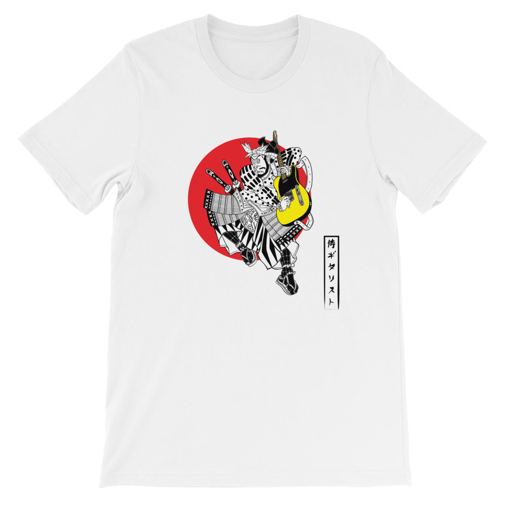 The Traditional Guitar Playing Samurai Men's Tee