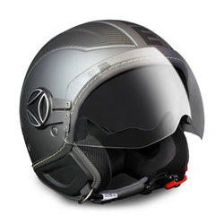 CASCO DEMI JET AVIO ANTHRACITE FROST CARBON