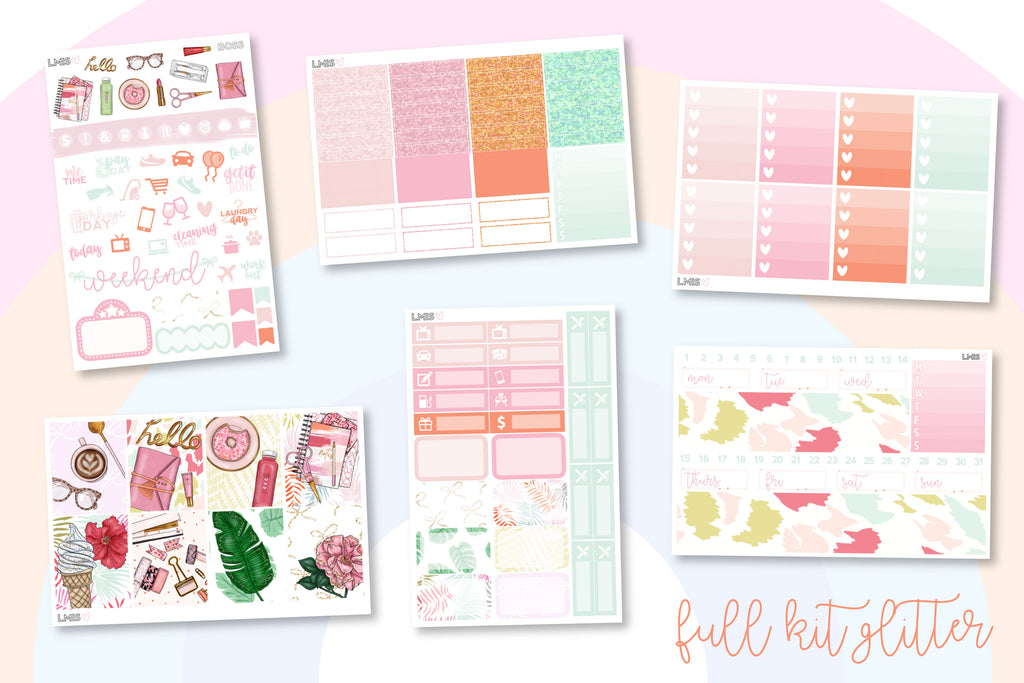 Boss Vertical Planner Sticker Kit - Grab these stickers for your planner and let's get to it! - Let's Make It Sparkle
