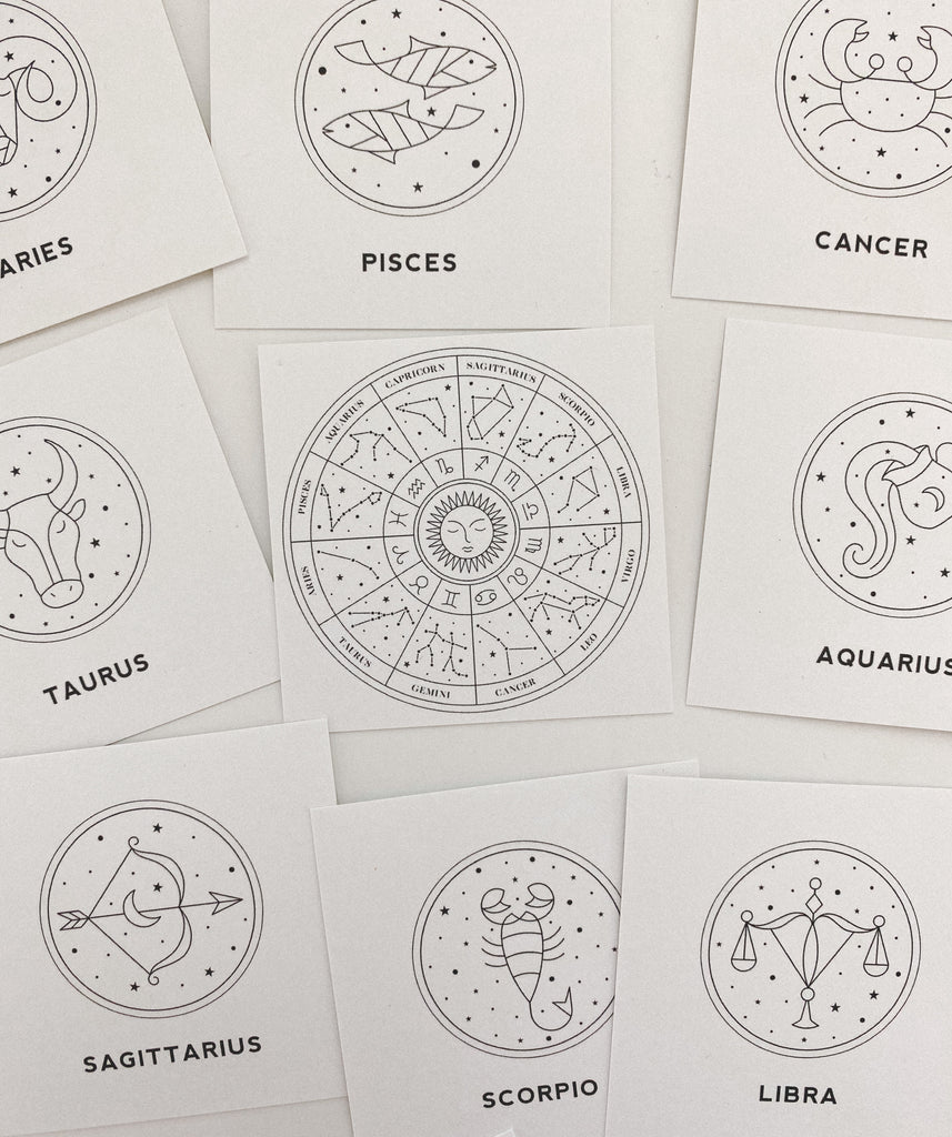 Astrology Journaling Cards