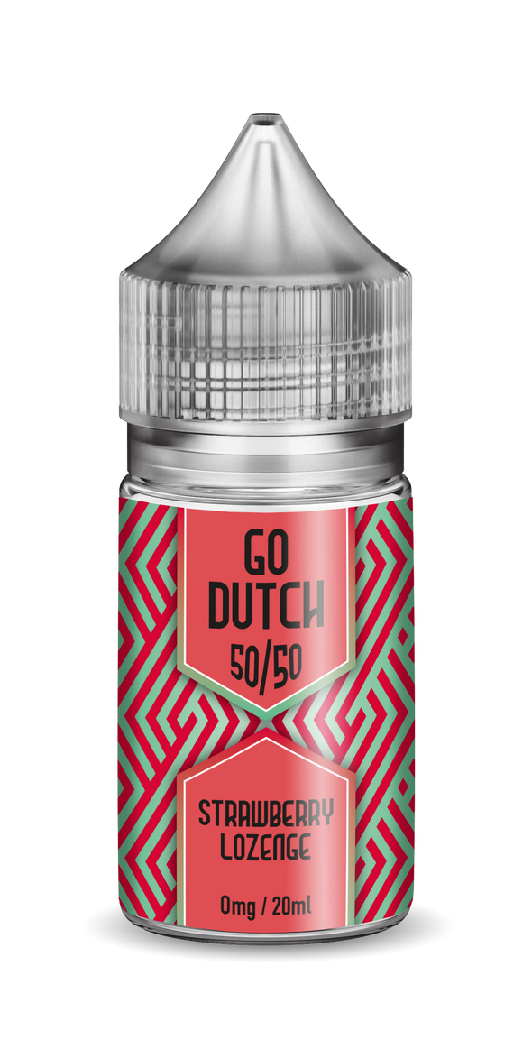 Go Dutch 50/50 - Strawberry Lozenge