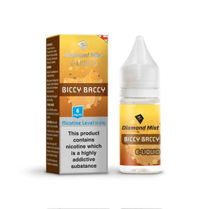 Diamond Mist Biccy Baccy 10ml - 6mg Nicotine