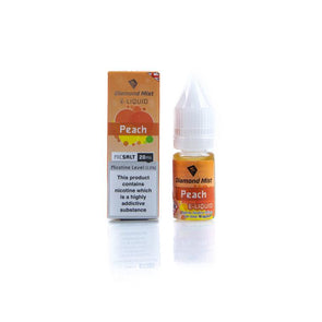 Diamond Mist E-Liquid East Peach Nic Salt