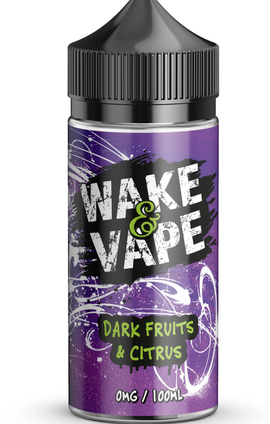 Dark fruits and citrus  - Wake & Vape