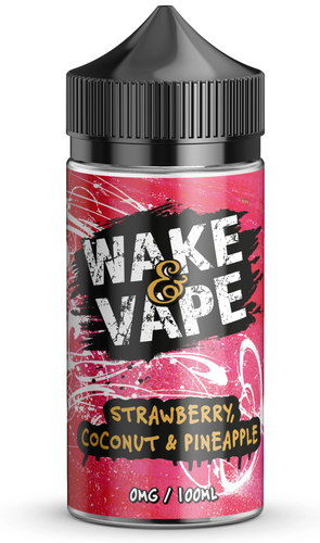 Strawberry coconut and pineapple - Wake & Vape